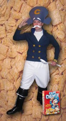 Coolest Cap'n Crunch Costume