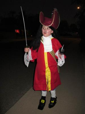 Coolest Captain Hook Costume