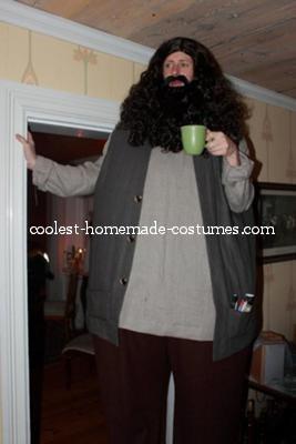 Costume hagrid adult