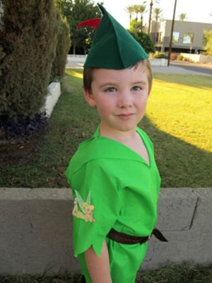 Coolest Peter Pan Costume