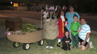 Our Peter Pan Group Costume
