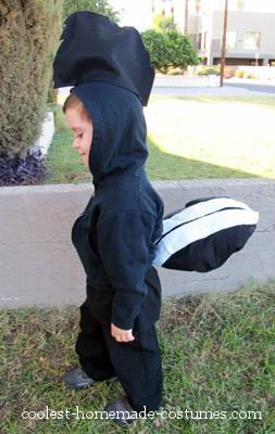 Coolest Peter Pan Lost Boy Costume - Skunk
