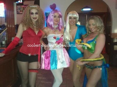 Coolest Sassy Group Costume