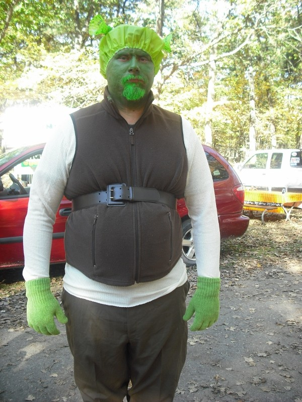 Coolest Shrek and Fiona Costumes - 1