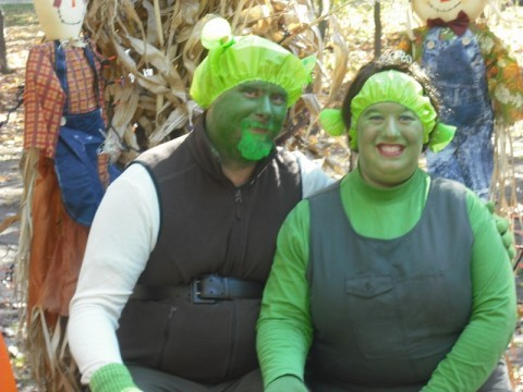 Shrek and Fiona Costumes