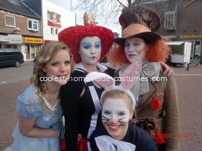 Alice in Wonderland Group Costume