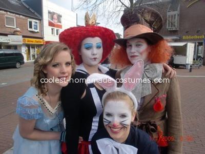 Alice in Wonderland Group Costume