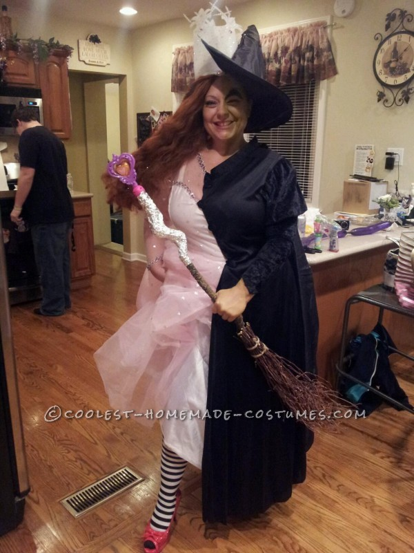 Coolest Good Witch Bad Witch Costume - 3