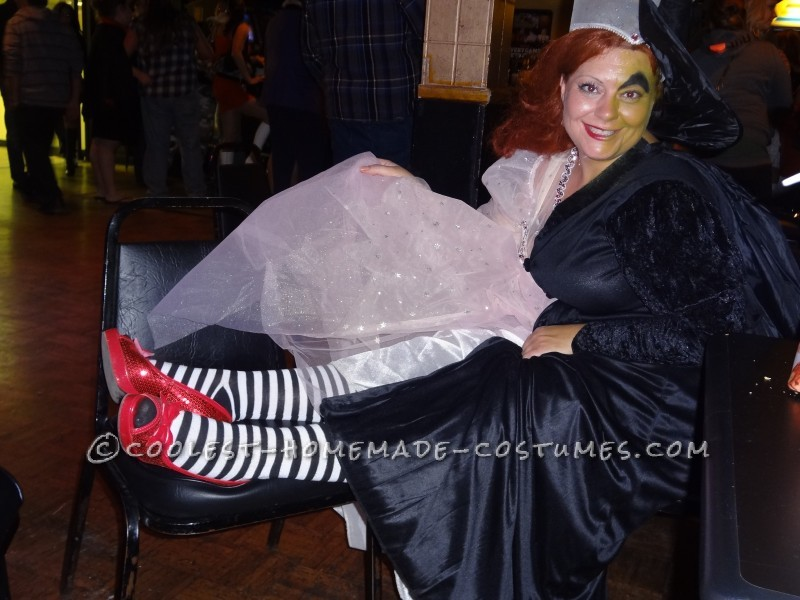 Coolest Good Witch Bad Witch Costume - 4