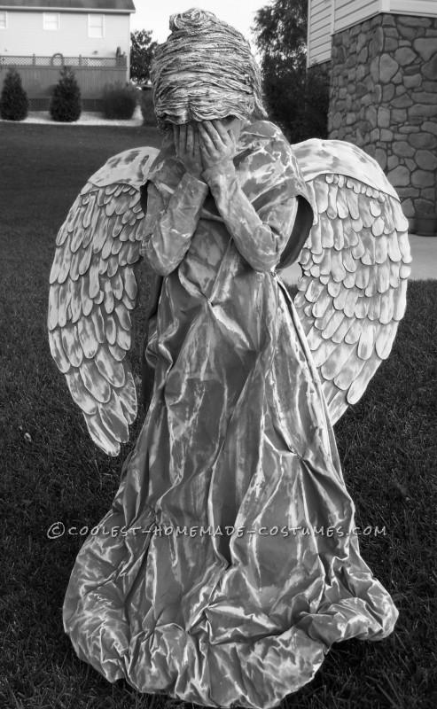 Trinity as cemetery angel 2