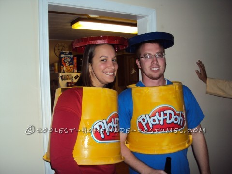 We had two big halloween parties to attend and wanted different costumes for both parties... but we didnt want to spend a lot of money. Super cheap a