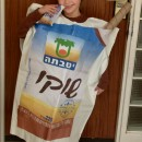 In Israel, a favorite kid's snack is chocolate milk in a bag. They tear off the corner with their teeth and drink. I don't think th