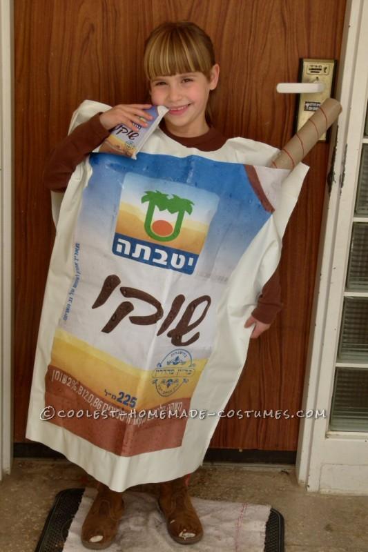 Most Original Chocolate Milk Bag Costume