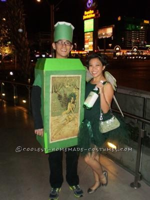 Coolest Absinthe and Green Fairy Costume