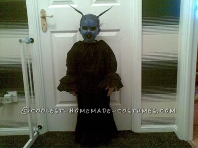My two year old daughter decided she wanted to be an alien for halloween, after watching E.T and other alien movies, so thought we\'d try to make o