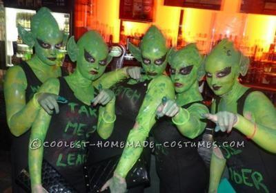 Coolest Alien Costume