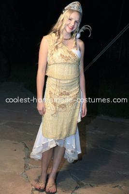 Full length - Aphrodite Greek Goddess Costume