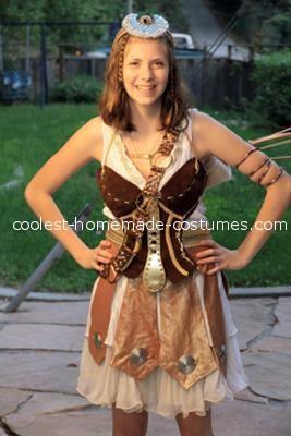 Front - Coolest Artemis Greek Goddess Costume
