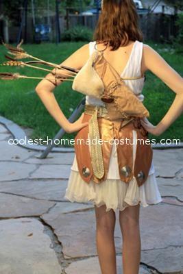 Back - Coolest Artemis Greek Goddess Costume