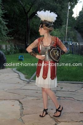 Full Length - Athena Greek Goddess Costume