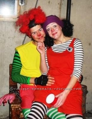 Major Bedhead and Lunette the Clown