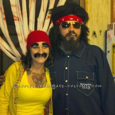 coolest cheech and chong couple costume