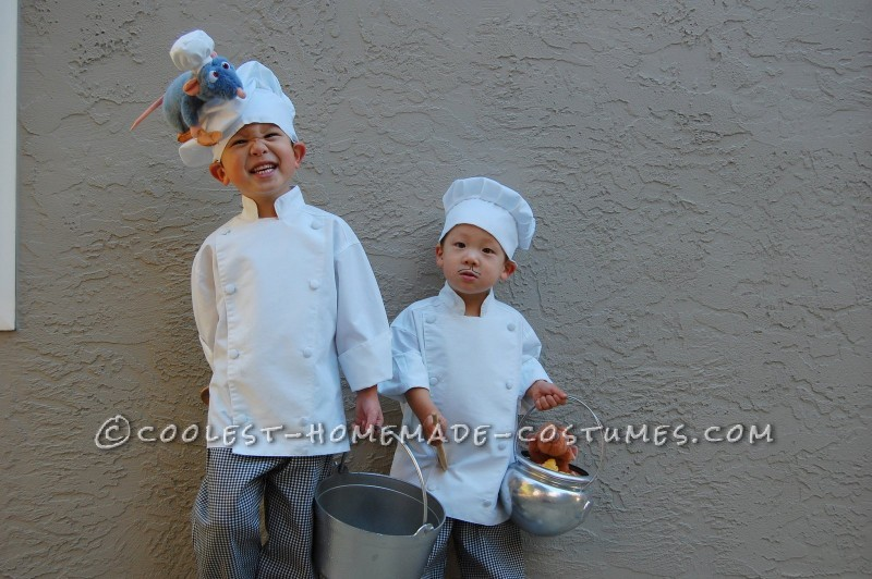 Coolest Disney Ratatouille Costume With Chef Linguini And Skinner