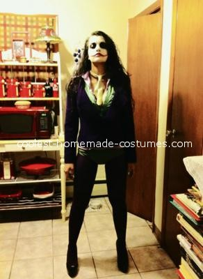 Full costume - Female Joker Costume