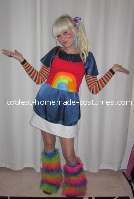 Coolest Hand-Made Rainbow Brite Costume