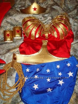 I\'ve always wanted to be Wonder Woman for Halloween. I told myself if I could get to my goal weight which would mean loosing 80lbs, I could be Won