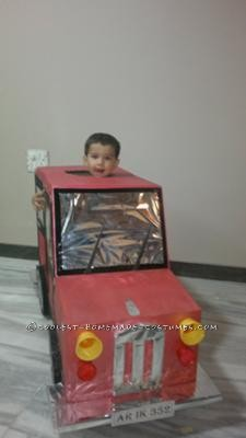 Coolest Home Made Car Costume