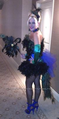 I have wanted to be a peacock for several years, and as luck would have it my aunt owned a peacock so all I had to do was wait! After a few years she