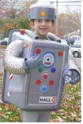 Coolest Homemade Robot Costume