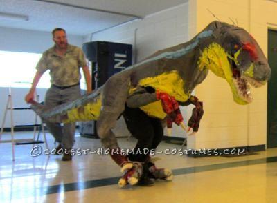 Coolest Jurassic Park III Velociraptor Costume