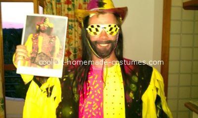 Coolest Macho Man Randy Savage Costume