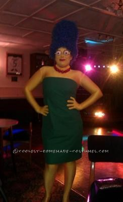 Hi there, I was so made up with how this Marge Simpson Costume turned out and it went down a storm at the fancy dress party I went to.So here\'s a