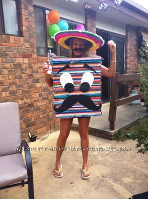 I had a Mexican themed party for my 30th birthday this year. I figured there would be lots of ponchos & sombreros so I wanted to wear something r