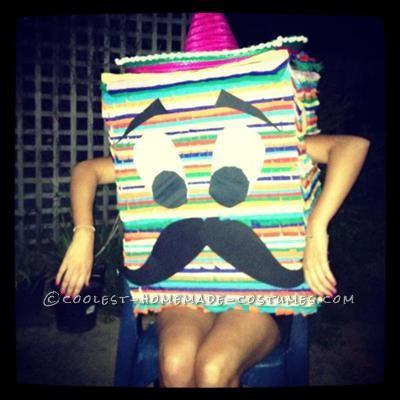 Coolest Mexican Pinata Costume!