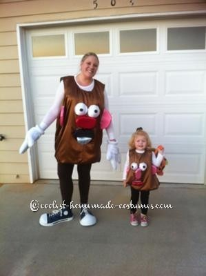 Coolest Mr And Mrs Potato Head Costume