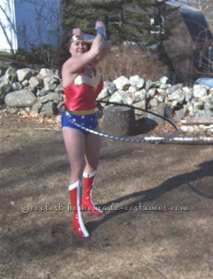 My intention is to hula hoop in a 4th of July parade as Wonder Woman!