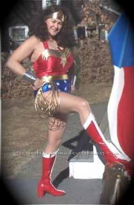 Coolest No-Sew Wonder Woman Costume