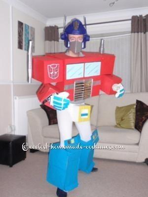 Optimus Prime by Gary Rice, England