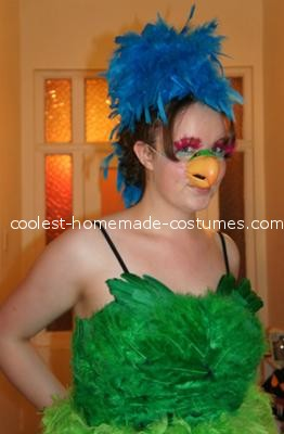 Coolest Parrot Costume