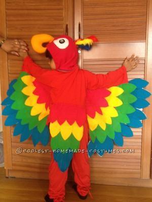 Coolest Parrot Costume