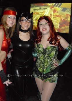 Poison, Catwoman, and Elektra