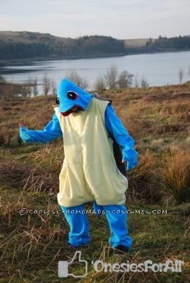 """Sick of the same-old-same old animal costumes and onesies from Kigurami I made my own """"where the wild things are"""" costume, as Max, for a"""