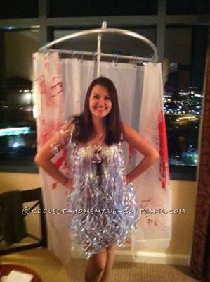 Coolest Psycho Shower Costume
