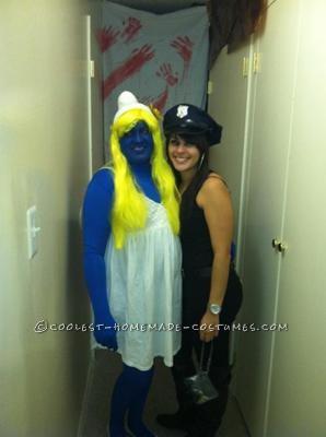 Coolest Smurfette Costume