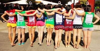 Back - Soda Pop Can Group Costume