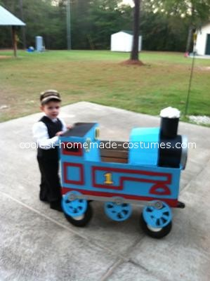 Coolest Thomas the Train and Mr. Conductor Costume - 1